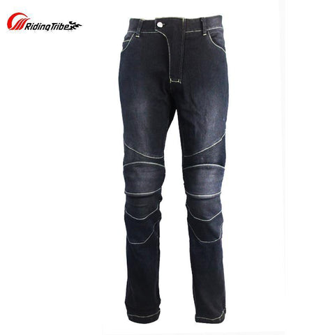 RIDING TRIBE Motorbike Jeans With Knee Pads