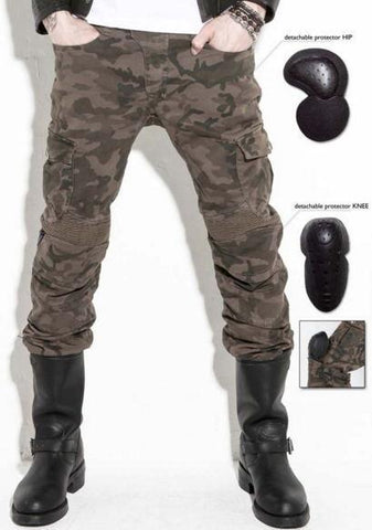 UglyBROS Camouflage Motorcycle Trousers