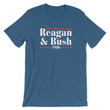 "1980 Reagan & Bush ""The Time is Now"" T-Shirt"