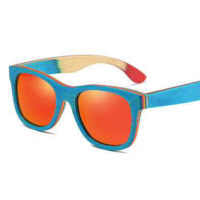 Mandy Wooden Bamboo Sunglasses