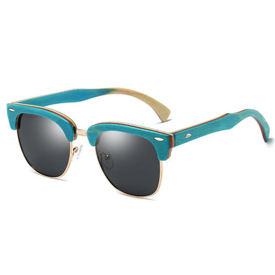 Diana Polarized Wooden Sunglasses