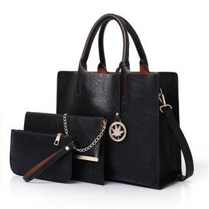 Amirah Leather Handbag Set
