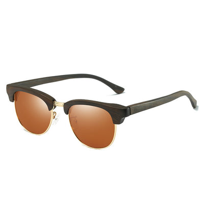 Maple Ebony Wooden Sunglasses