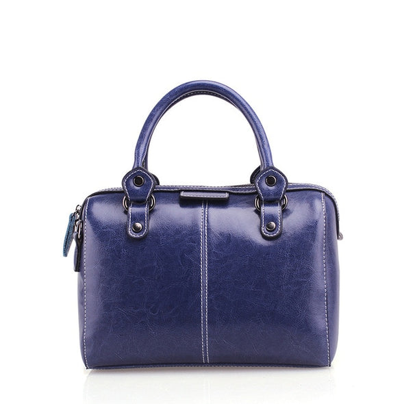 Abigail Boston Leather Handbag