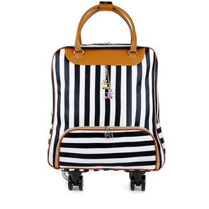 Sonya Rolling Suitcase and Bag Set