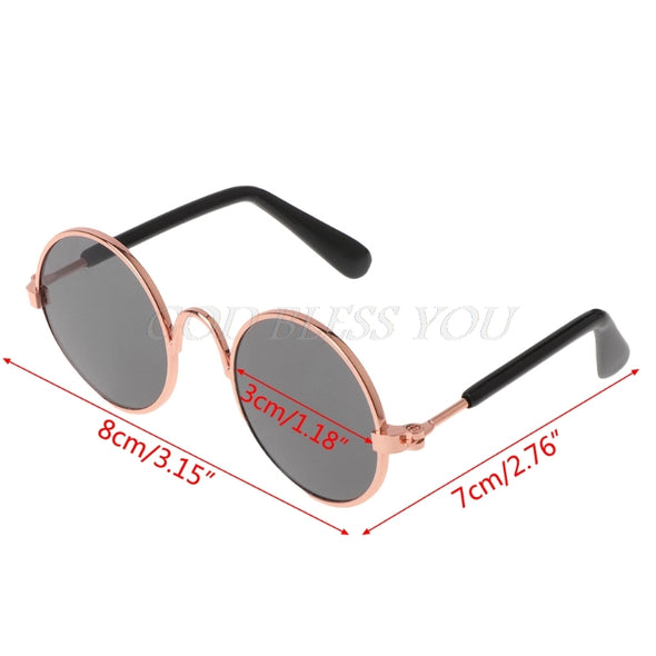 Cat Round UV400 Pet Sunglasses