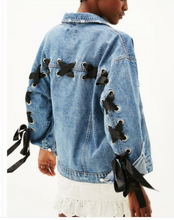 All Laced Up Denim Jacket