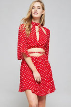 Watermelon Polka Dot Romper