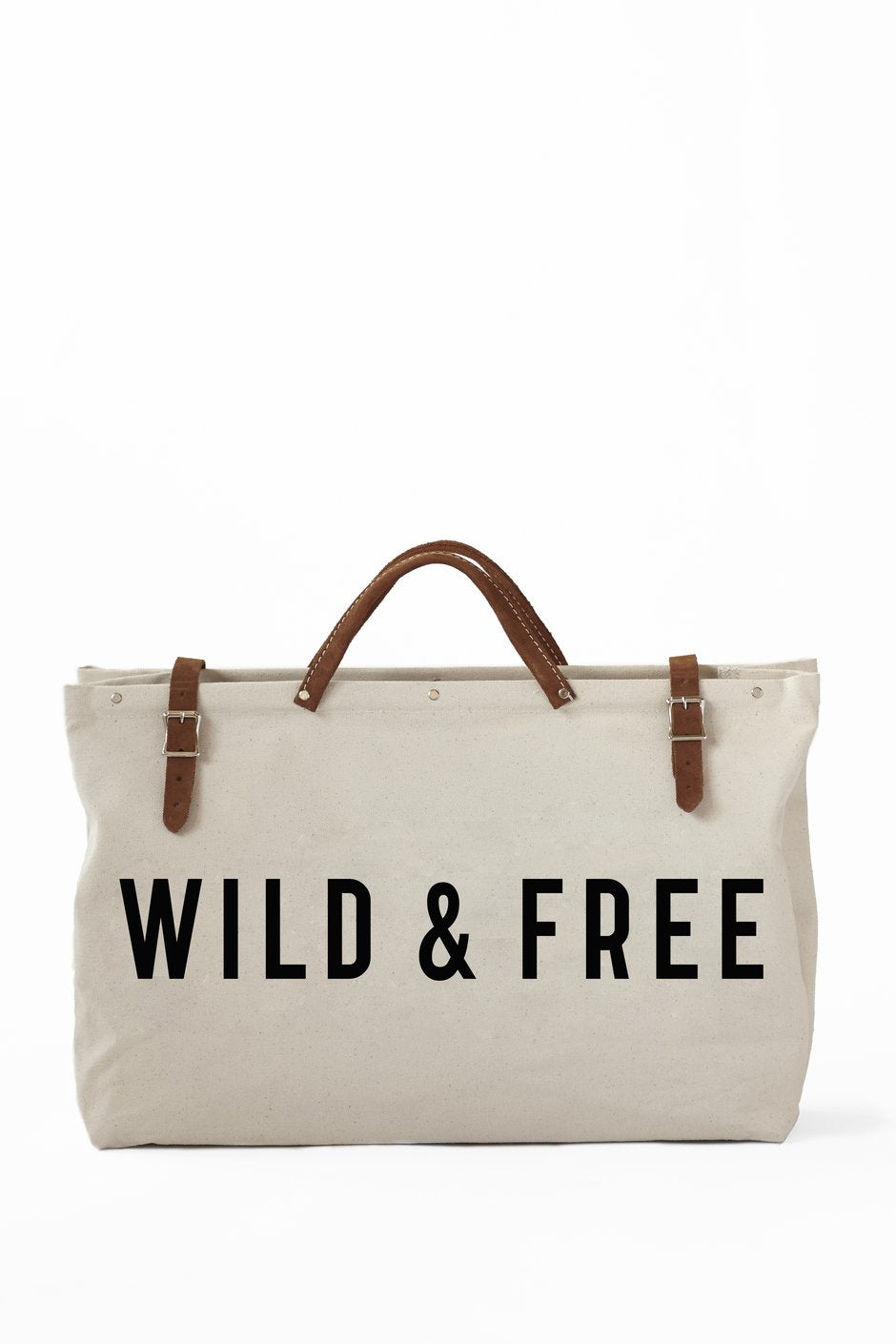 Wild & Free Canvas Utility Bag