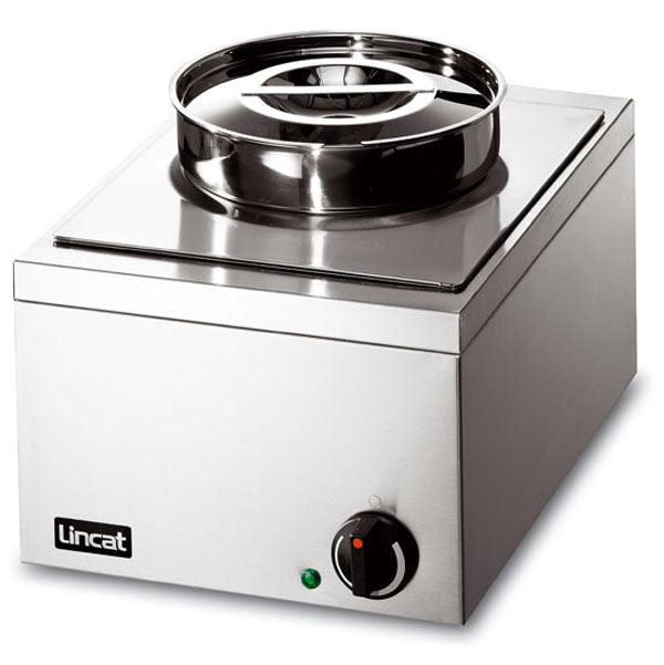Lincat LRBW Electric Bain Marie Single round pot (wet or dry) 275W x 400D x 260H (mm) 0.25kW,Bains Maries,Lincat