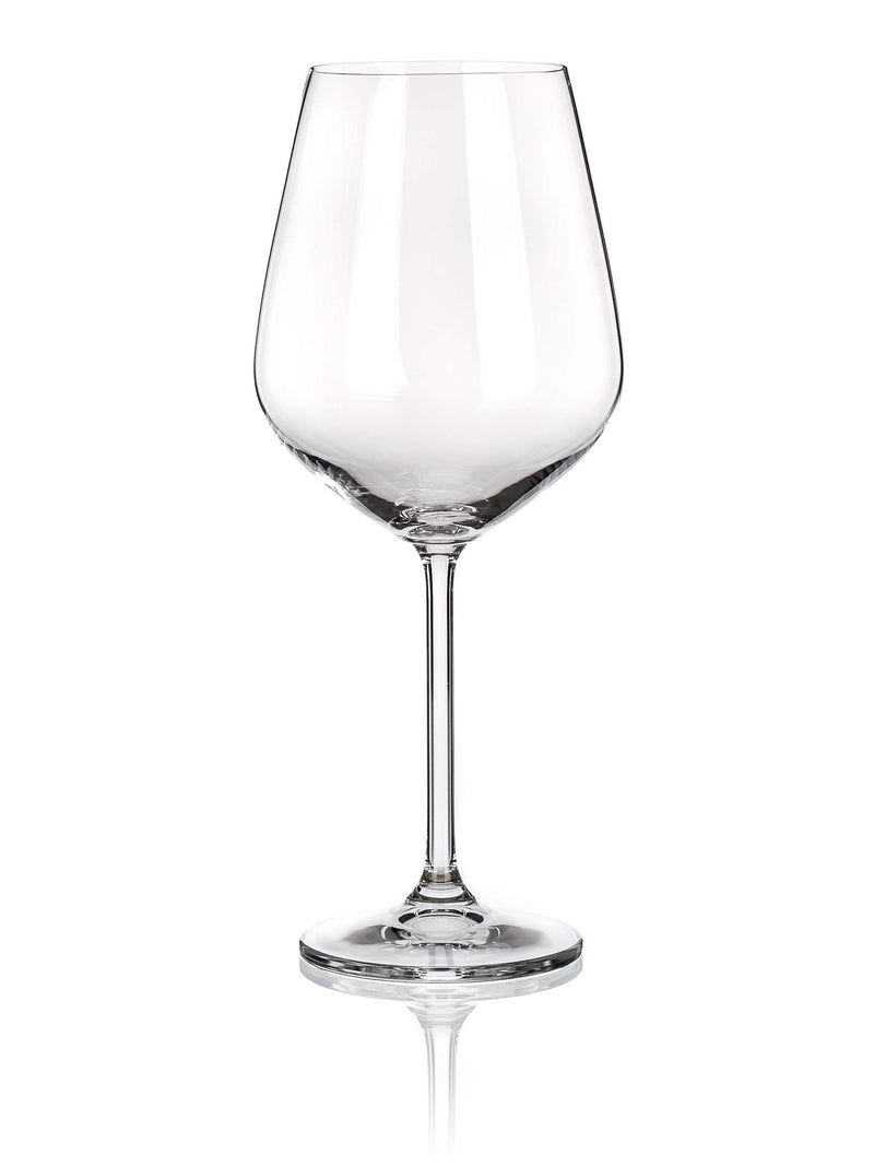 Maison Forine - Lauren Red Wine Glass,Wine Glass,Maison Forine Crystal By Bohemia