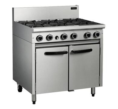 Cobra CR9D 900mm Gas Range - Gas Static Oven Range,Cooktops - Gas,Blue Seal