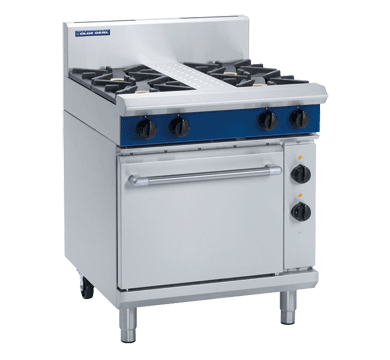 Blue Seal Evolution Series GE505D - 750mm Gas Range Electric Static Oven,Oven Ranges,Blue Seal