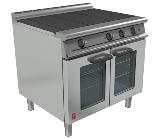 Falcon E3101OTC 3HP Electric Three Hotplate Fan-Assisted Range,Convection Ovens,Falcon