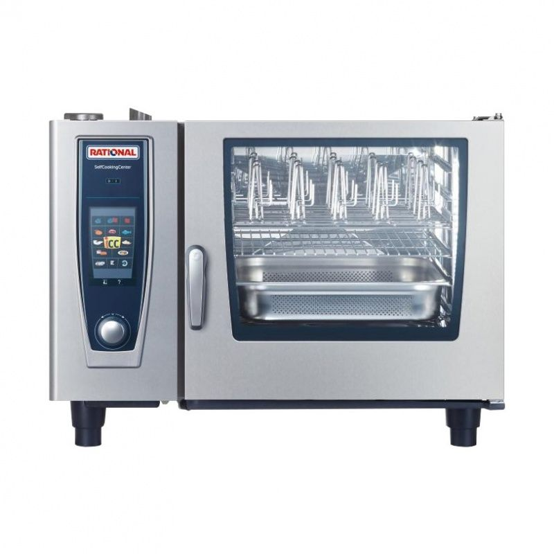 Rational  6 Grid Self Cooking Center 2/1GN Natural Gas Combination Oven,Self Cooking Center,Rational