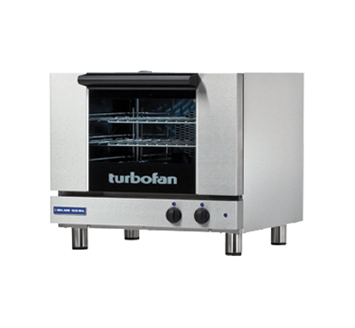 Blue Seal Turbofan E22M3 - Half Size Sheet Pan Manual Electric Convection Oven,Convection Ovens,Blue Seal