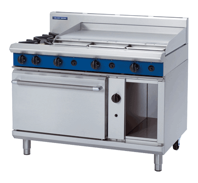 Blue Seal Evolution Series G508A - 1200mm Gas Range Static Oven,Oven Ranges,Blue Seal