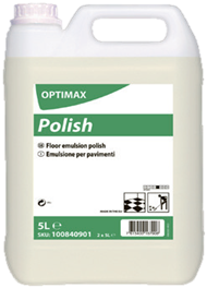 Diversey Optimax - Polish - Floor Emulsion Polish -  5L (Case of 2),Floor Cleaner,Diversey