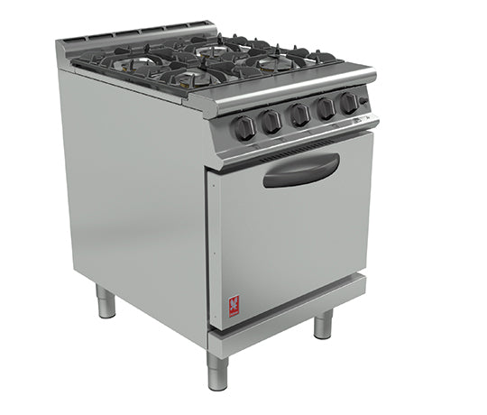 Falcon G3161D Gas Four Burner Open Top Range,Oven Ranges,Falcon
