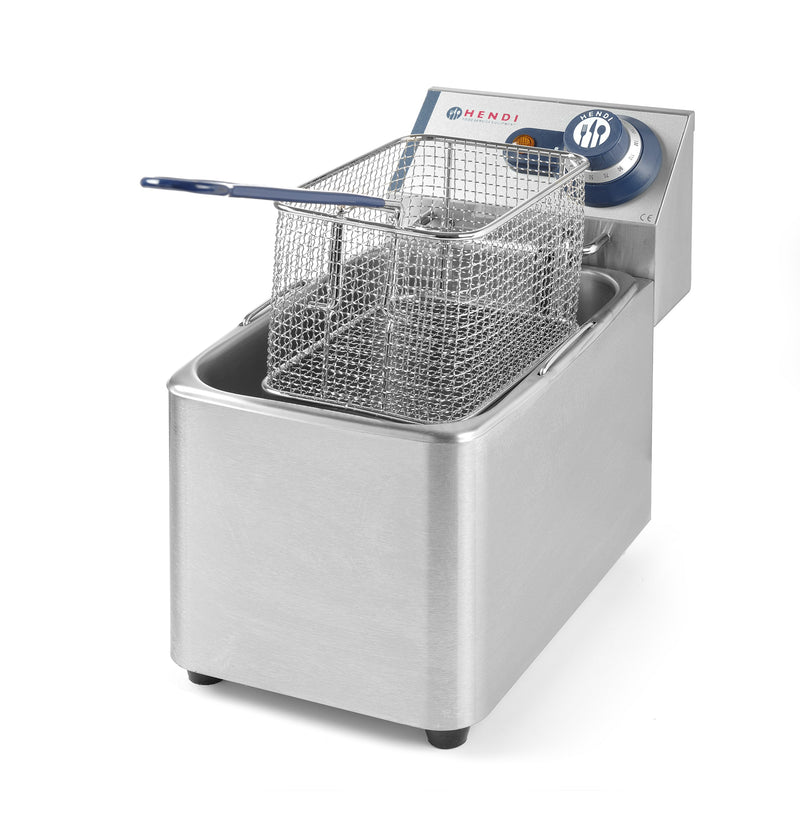 Hendi - Electric Table Top Fryer Blue Line- 4 Litre,Electric Table Top Fryer,Hendi