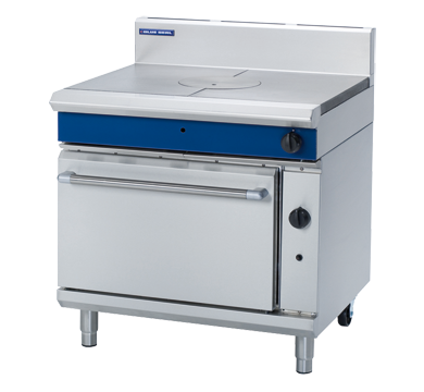 Blue Seal Evolution Series G570 - 900mm Gas Target Top Static Oven Range,Boiling Tops & Hobs,Blue Seal
