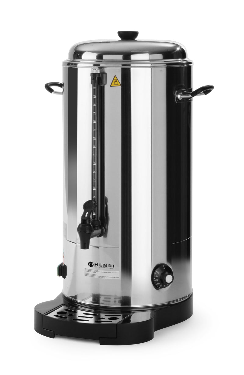 Hendi - Manual Fill Water Boiler Double-Walled - 18 Litre,Water Boiler,Hendi
