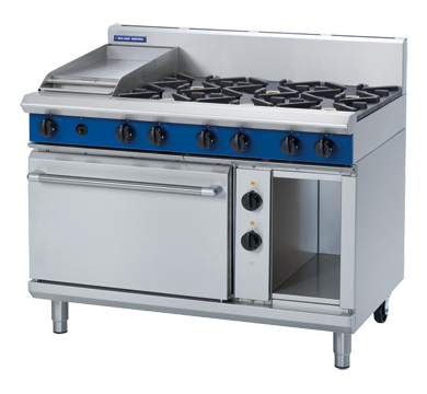 Blue Seal Evolution Series GE58C - 1200mm Gas Range Electric Convection Oven,Oven Ranges,Blue Seal