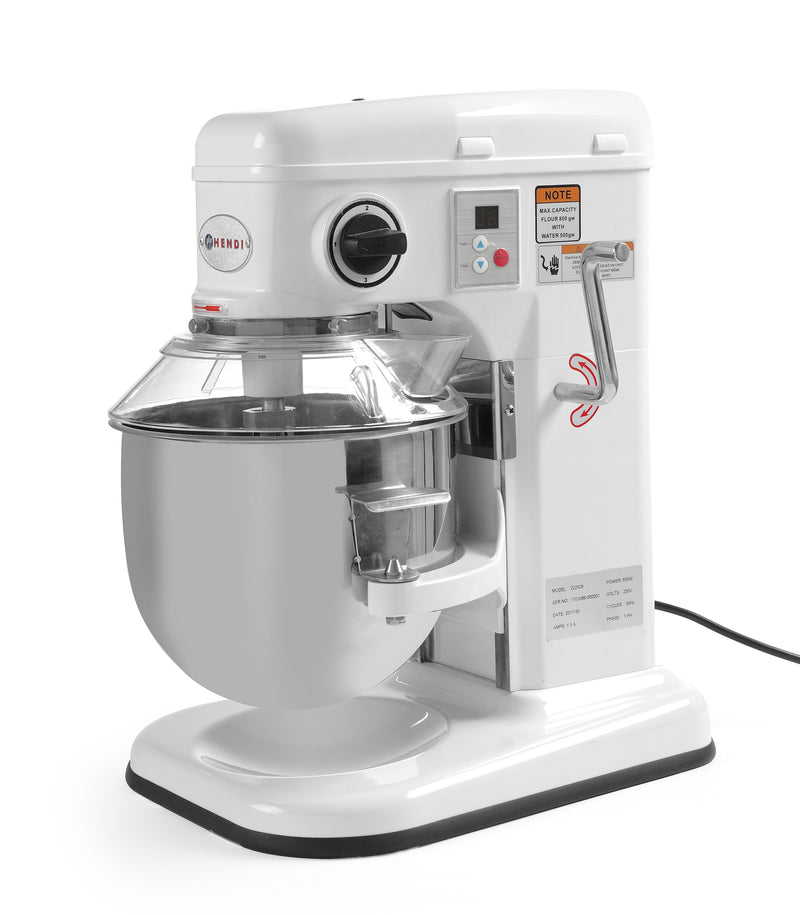 Hendi - Heavy Duty Mixer -  7 litre,Table Top Mixer,Hendi