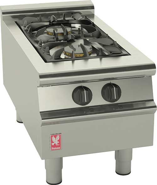 Falcon G3122 Gas Two Burner Boiling Top,Boiling Tops & Hobs,Falcon