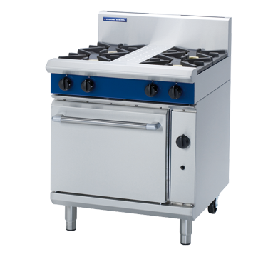 Blue Seal Evolution Series G505D - 750mm Gas Range Static Oven,Oven Ranges,Blue Seal