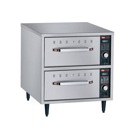 Hatco HDW-2N Freestanding Narrow Two Drawer Warmer 530W x 686D x 537H (mm) 3kW,Drawer Warmers,Hatco