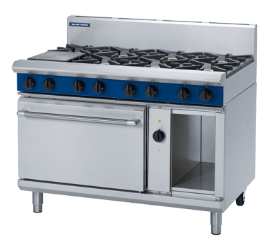 Blue Seal Evolution Series GE58D - 1200mm Gas Range Electric Convection Oven,Oven Ranges,Blue Seal