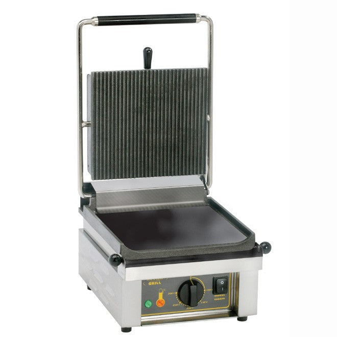 Roller Grill Savoye L Electric Single Contact Grill, Cast Iron 330W x 385D x 220H (mm) 2kW,Contact Grills,Roller Grill