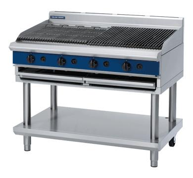 Blue Seal Evolution Series G598-LS - 1200mm Gas Chargrill  Leg Stand,Chargrills,Blue Seal