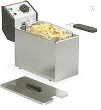 Roller Grill FD50 5L Electric Single Pan Fryer 175W x 420D x 320H (mm) 2kW,Fryers - Electric,Roller Grill