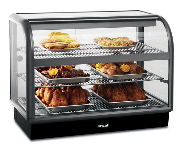 Seal C6H/100B Curved Front Heated Merchandiser,Heated Display,Seal