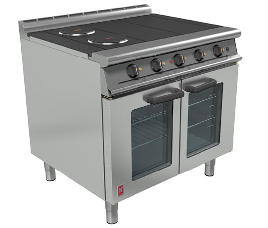 Falcon E3101OTC 4HP Electric Four Hotplate Fan-Assisted Range,Oven Ranges,Falcon