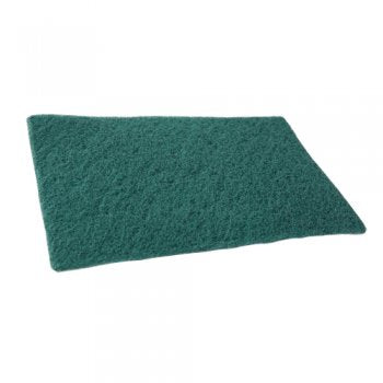 3M - Colour Coded Scourers Green 150x230mm (Case of 500),Scourers,3M