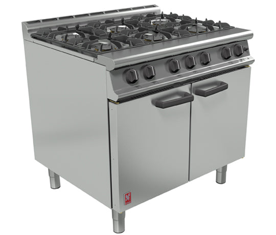 Falcon G3101 Gas Six Burner Open Top Range,Oven Ranges,Falcon