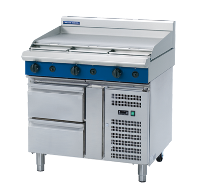 Blue Seal Evolution Series G516A-RB - 900mm Gas Griddle,Cooktops - Gas,Blue Seal