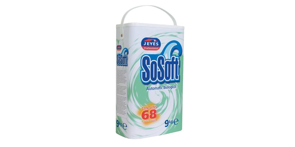 Jeyes Professional - So Soft Biological Washing Powder - 9Kg,Laundry,Jeyes Professional