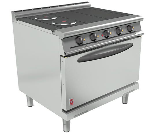 Falcon E3101D 4HP Electric Four Hotplate Range,Oven Ranges,Falcon