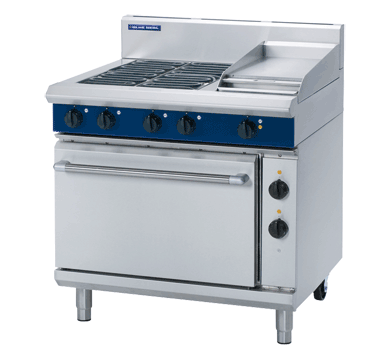 Blue Seal Evolution Series E506C - 900mm Electric Range Static Oven,Oven Ranges,Blue Seal