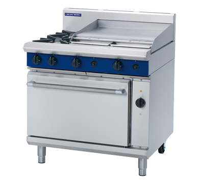Blue Seal Evolution Series GE56B - 900mm Gas Range Electric Convection Oven,Oven Ranges,Blue Seal