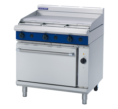 Blue Seal Evolution Series GE56A - 900mm Gas Range Electric Convection Oven,Oven Ranges,Blue Seal