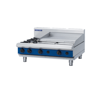 Blue Seal Evolution Series G516B-B - 900mm Gas Cooktop/Griddle,Cooktops - Gas,Blue Seal