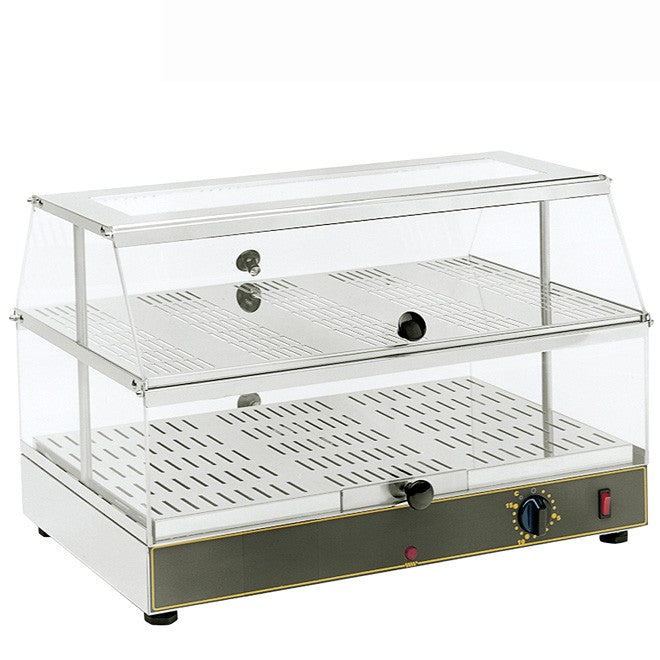 Roller Grill WD200 Counter Top Heated Display Unit 590W x 350D x 375H (mm) 0.65kW,Heated Display,Roller Grill