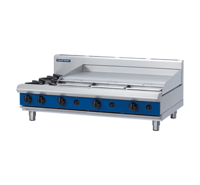 Blue Seal Evolution Series G518A-B - 1200mm Gas Cooktop/Griddle,Cooktops - Gas,Blue Seal