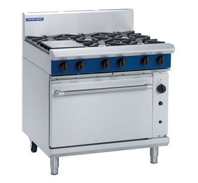 Blue Seal Evolution Series G56D - 900mm Gas Range Convection Oven,Oven Ranges,Blue Seal