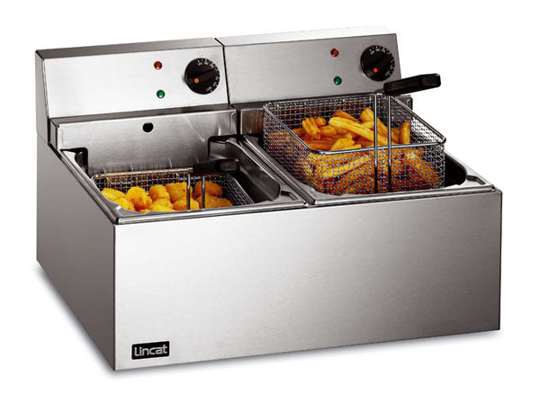 Lincat LDF2 Electric Fryer (Counter Top) Twin tank,Fryers - Electric,Lincat
